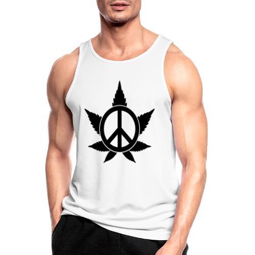 Peace - Männer Tank Top atmungsaktiv