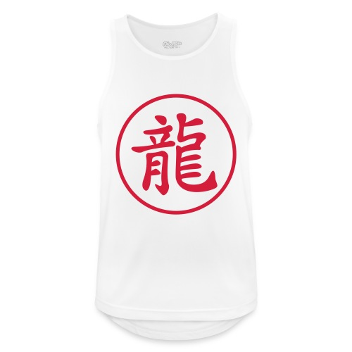 Dragon kanji - Débardeur respirant Homme