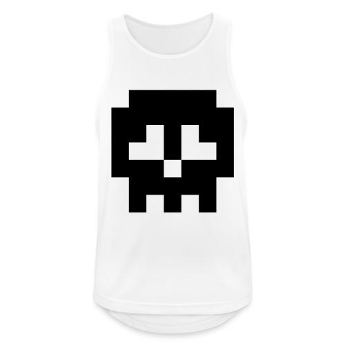 Retro Gaming Skull - Men's Breathable Tank Top