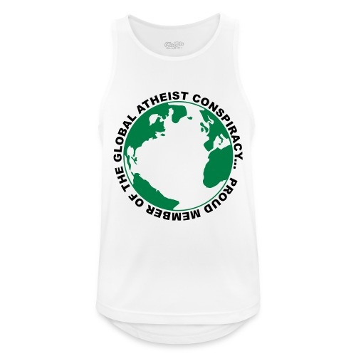 Global Atheist Conspiracy - Men's Breathable Tank Top