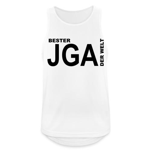 Bester JGA der Welt - Männer Tank Top atmungsaktiv