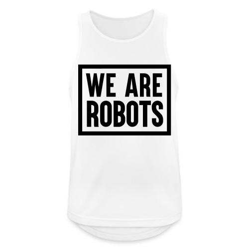 We Are Robots Premium Tote Bag - Men's Breathable Tank Top