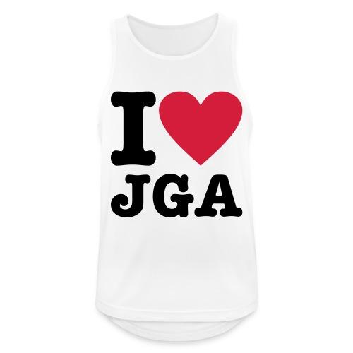 I love JGA - Männer Tank Top atmungsaktiv