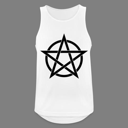 pentagramm - Männer Tank Top atmungsaktiv