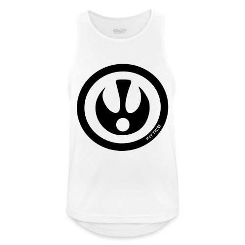 FITTICS SHIELD Red - Men's Breathable Tank Top