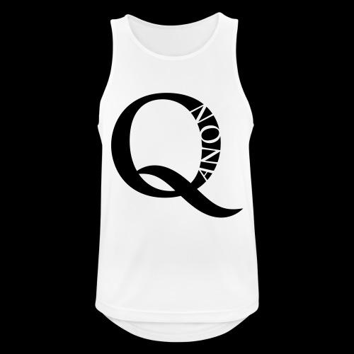 Q Anon Q-Anon Original Logo - Männer Tank Top atmungsaktiv