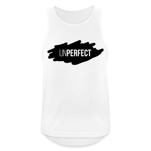 UNPERFECT LOGO 2 - Männer Tank Top atmungsaktiv
