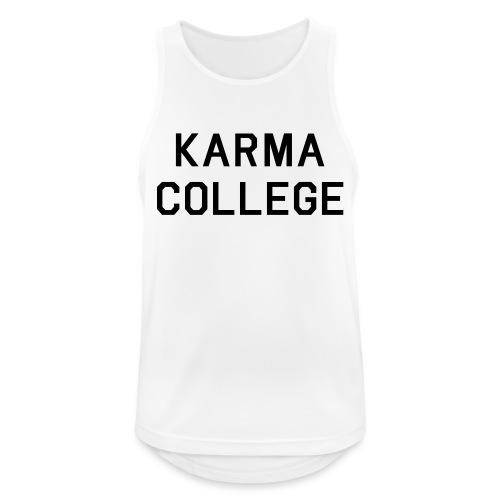 Karma College Karma Fucks Back What goes - Men's Breathable Tank Top
