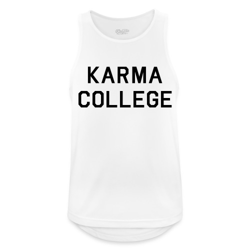 KARMA COLLEGE - Keep your hate to yourself. - Men's Breathable Tank Top
