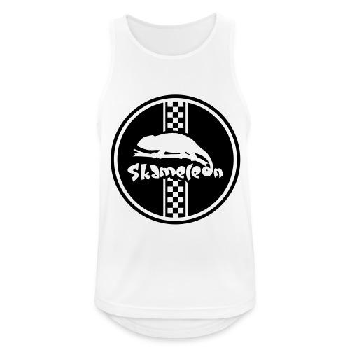 skameleon Logo - Männer Tank Top atmungsaktiv