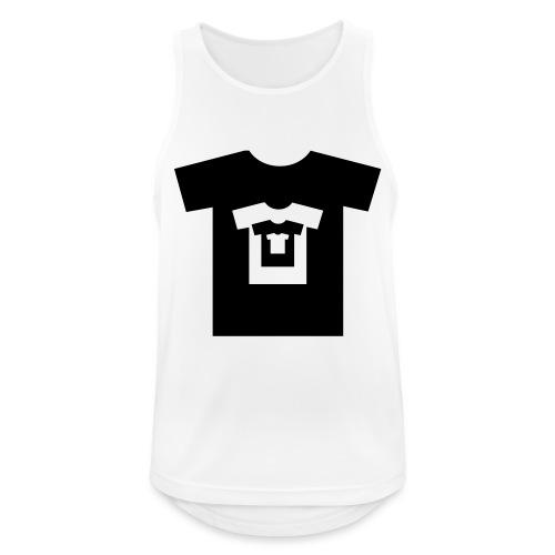 t-shirt récursif - Débardeur respirant Homme
