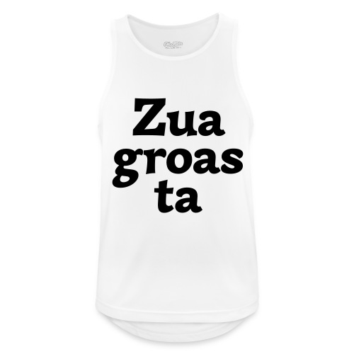 Zuagroasta - Männer Tank Top atmungsaktiv