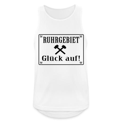 Glück auf! Ruhrgebiet - Männer Tank Top atmungsaktiv