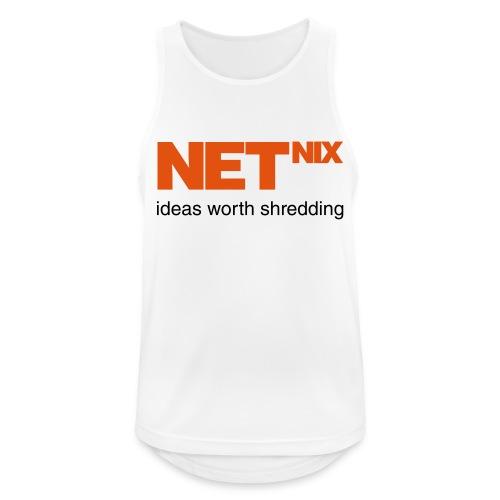 netnix - Mannen tanktop ademend