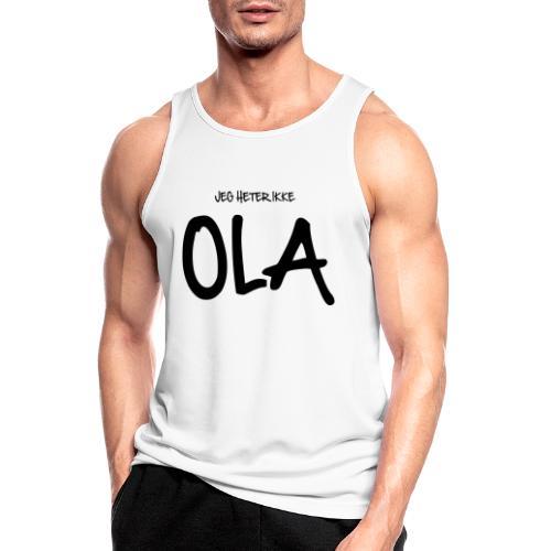 Jeg heter ikke Ola (fra Det norske plagg) - Pustende singlet for menn
