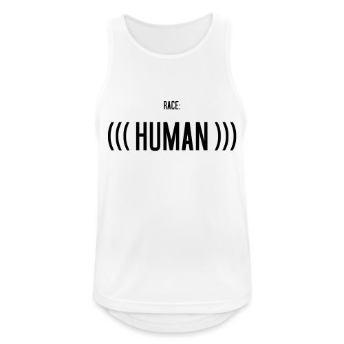 Race: (((Human))) - Männer Tank Top atmungsaktiv