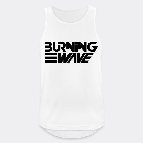 Burning Wave Block - Débardeur respirant Homme