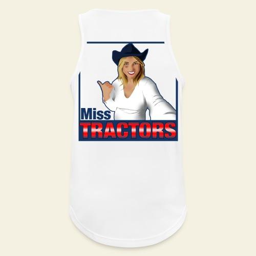 Miss Tractors Logo - Canotta da uomo traspirante