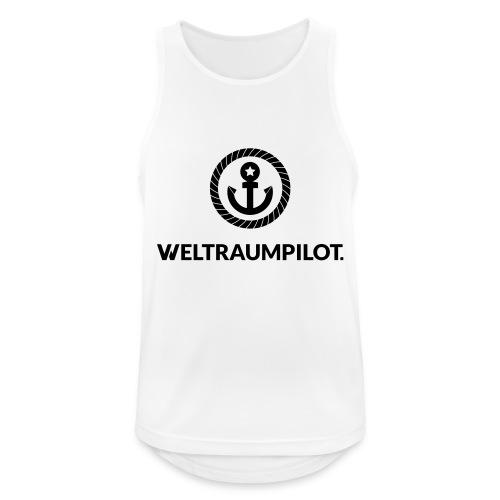 weltraumpilot - Männer Tank Top atmungsaktiv