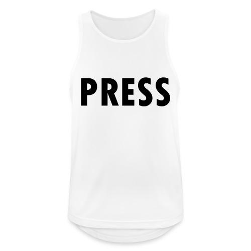 press - Männer Tank Top atmungsaktiv
