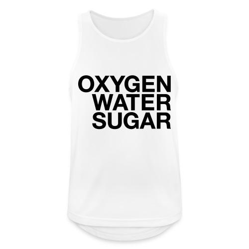 Oxygen water sugar - Herre tanktop åndbar