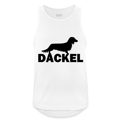 Dackel - Männer Tank Top atmungsaktiv