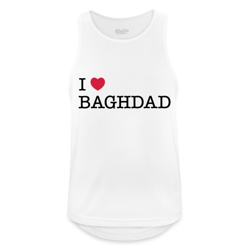 I LOVE BAGHDAD - Men's Breathable Tank Top