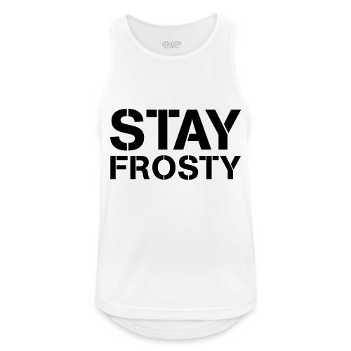 Stay Frosty - Men's Breathable Tank Top