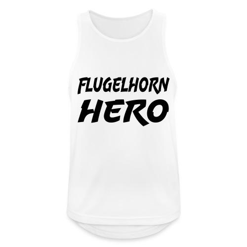 Flugelhorn Hero - Pustende singlet for menn