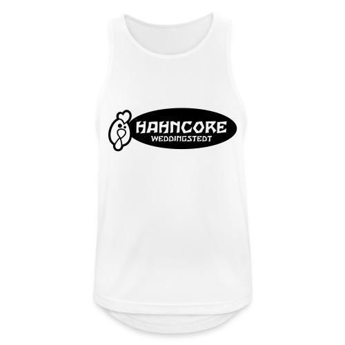 hahncore_sw_nur - Männer Tank Top atmungsaktiv
