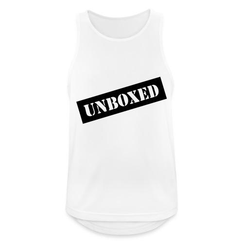 Get UNBOXED now!! by Brilliant Voices - Männer Tank Top atmungsaktiv
