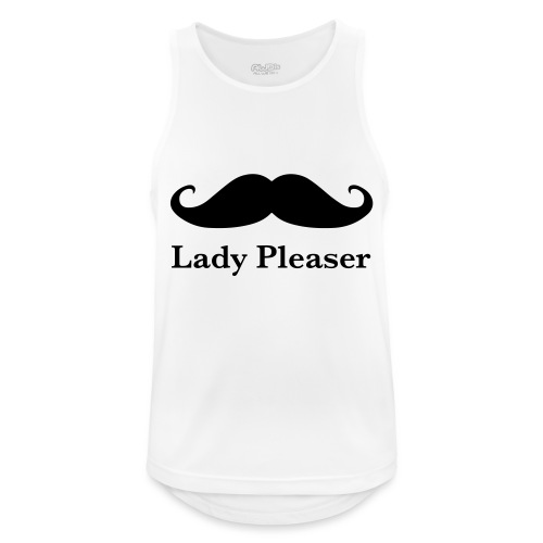 Lady Pleaser T-Shirt in Green - Men's Breathable Tank Top