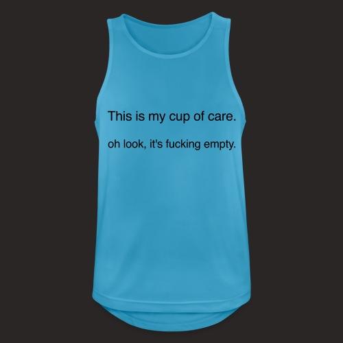 cup of care - Männer Tank Top atmungsaktiv