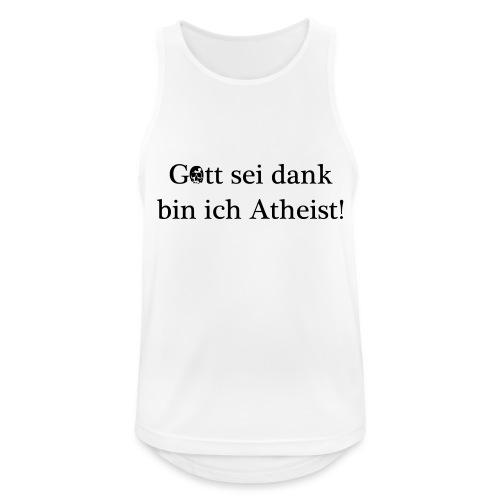 Atheist - Männer Tank Top atmungsaktiv