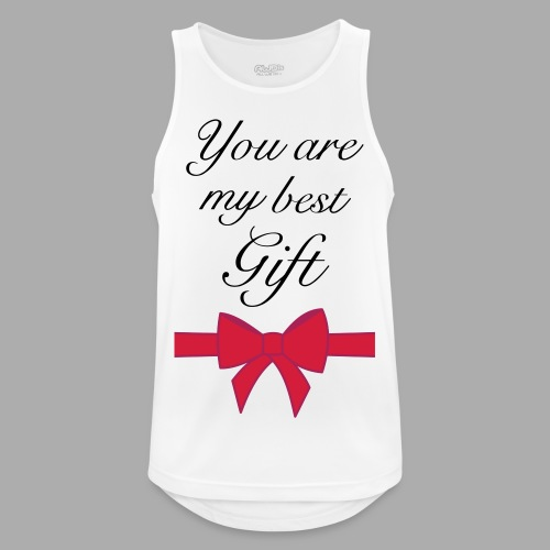 you are my best gift - Men's Breathable Tank Top
