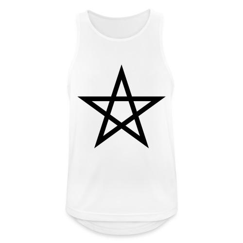 Pentagramme Wicca - Débardeur respirant Homme