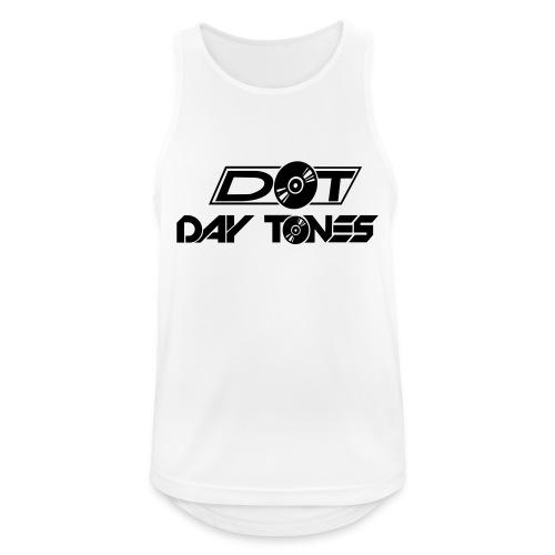 DT Logo black - Männer Tank Top atmungsaktiv
