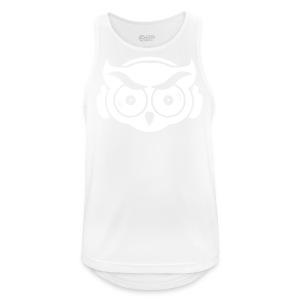 Just the OWL - Männer Tank Top atmungsaktiv
