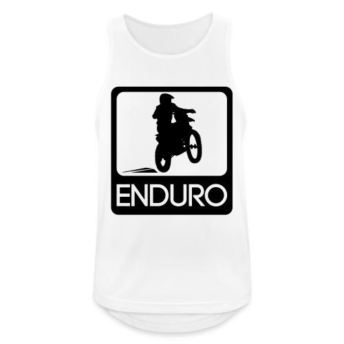 Enduro Rider - Männer Tank Top atmungsaktiv