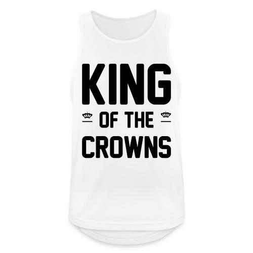 King of the crowns - Mannen tanktop ademend actief