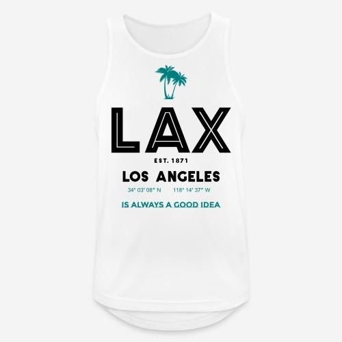LAX è una buona idea!! - Canotta da uomo traspirante