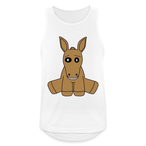 horse - Canotta da uomo traspirante