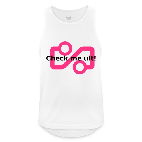 Check me Uit! - Men's Breathable Tank Top