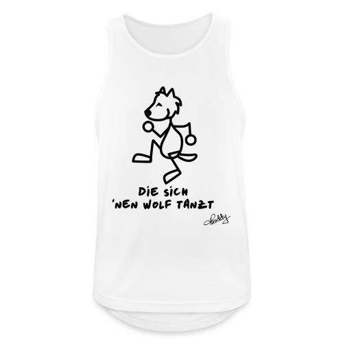 Die sich nen Wolf tanzt - Männer Tank Top atmungsaktiv