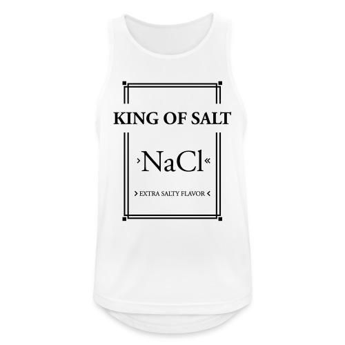 King of Salt - Männer Tank Top atmungsaktiv