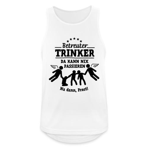 betreuter-trinker - Männer Tank Top atmungsaktiv