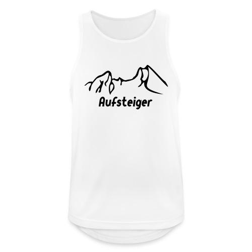 Bergsteiger Shirt - Männer Tank Top atmungsaktiv