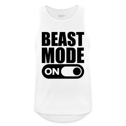 BEAST MODE ON - Men's Breathable Tank Top