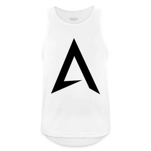 alpharock A logo - Men's Breathable Tank Top