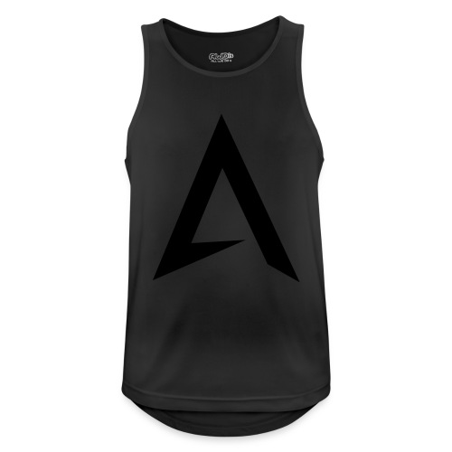 alpharock A logo - Men's Breathable Tank Top